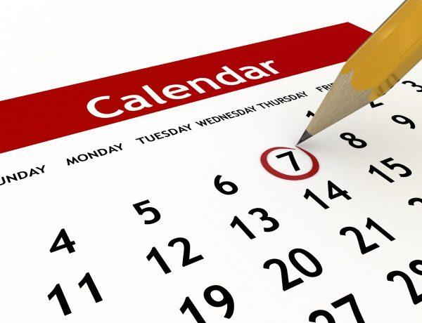 Calendar 2017/2018